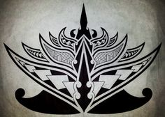 polynesian line art   Polynesian Lotus Flower by Cameron-Rutten