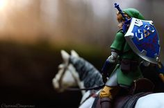 Zelda toy photography has been quite popular on... | GAME & GRAPHICS