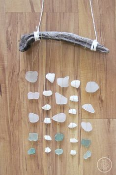 Today's post is all about sea glass and driftwood. I've had a giant bag of beach glass that I've collected over the years, and all it's done is just sit and accumulate dust.…