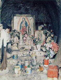 Eliot Porter. Shrine, Rancho La Virgen, Baja California, Mexico, March 31, 1964