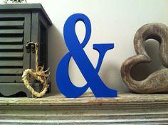 Freestanding Wooden Letter Ampersand '&'  10cm  by LoveLettersMe, £3.95