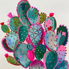 Something new coming soon. Watercolor Art, Art Painting, Creative, Cactus Art, Painting Inspiration, Art, Painting Art Projects, Canvas Art, Diy Art