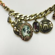 Betsey Johnson Shaky Cameo Critter Coin Necklace GORGEOUS! Authentic Betsey Johnson Shaky Cameo Critter & Coin Necklace- BRAND NEW WITH TAGS ATTACHED! Antique Gold Tone- Color: NO COLOR - Size: OS - Retail $45.00 Betsey Johnson Jewelry Necklaces