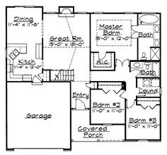 House 768 blueprint details floor plans liked on polyvore take out wall between dining living and kitchen alter room dimensions malvernweather Images