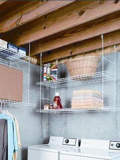 """Explore our internet site for even more details on """"laundry room storage diy shelves"""". It is actually a great location to find out more. Basement Remodel Diy, Laundry Room Remodel, Basement Makeover, Basement Renovations, Laundry Room Organization, Laundry Room Storage, Laundry Room Design, Organization Hacks, Laundry Detergent Storage"""