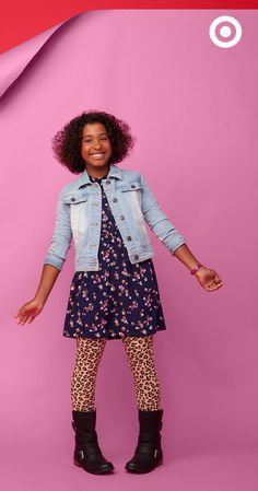 Back to school is the season for pattern play. Send your child to class with a stylish statement.