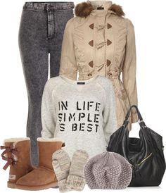 Outfits Ideas de Polyvore para Invierno 19