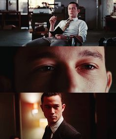 "Joseph Gordon-Levitt portrays the character of Arthur in the movie ""Inception""......"