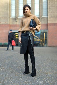 Sunday's Inspiration: London Fashion Week Streetstyle   BeSugarandSpice - Fashion Blog
