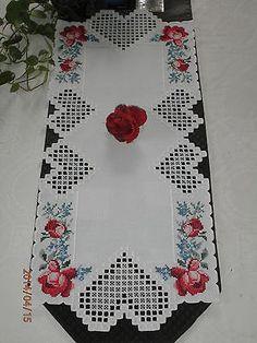 Hardanger Table Runner | eBay