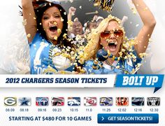 San Diego Chargers | Chargers Tickets