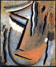 Abstract Head Dumb Pain Paintings | Alexei Jawlensky paintings