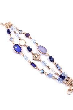 Beverly Bracelet in Blue