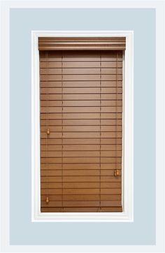 Real Wood Bourbon (light-medium brown) venetian blinds