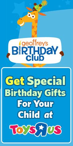Get Special Birthday Gifts For Your Child at Toys R Us