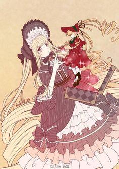 Shinku || 5th doll || Rozen Maiden Träumend