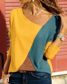 Long Sleeve Tops, Long Sleeve Shirts, Short Sleeves, Casual T Shirts, Types Of Sleeves, V Neck T Shirt, Clothes For Women, Free Shipping, Size Clothing