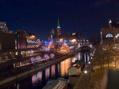 Christmas in Ottawa Canada