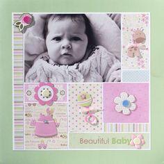 Beautiful Baby - Scrapbook.com