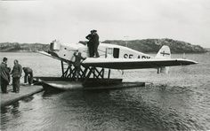 The Junkers F. 13 float performance in the Swedish transport aircraft