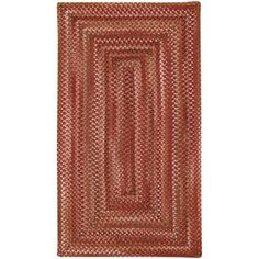 Willow Bay Braided Rectangle Runner Rug, 2' x 8', Multicolor