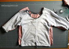 Mondgöttin: shirt becomes blouse