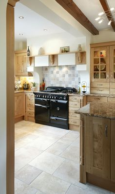 The AGA Rangemaster Elan range cooker in a country-style kitchen