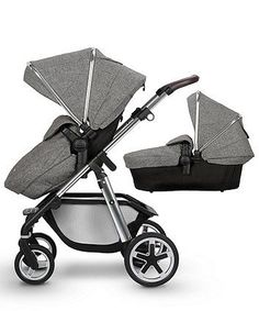 The Silver Cross pioneer is crafted from luxurious fabrics and rich leatherette for a premium feel. The accompanying carrycot is suitable for newborns and can be used for overnight sleeping. The pioneer has large wheels that can tackle any terrain, and comes with plenty of adjustable features to support your precious cargo as they grow from birth to approximately seven years. #luxurykids