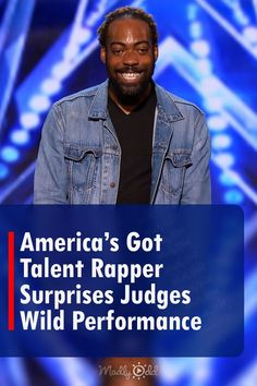 Shows like America's Got Talent have seen plenty of unique performances over the years. One cheeky rapper causes Sofia Vergara to jump from her seat into the audience with his unbelievable performance. #AmericasGotTalent #SimonCowell #SofiaVergara #HowieMandel Live Music, Good Music, Howie Mandel, The Rap Game, Simon Cowell, Sofia Vergara, Original Song, America's Got Talent, His Eyes