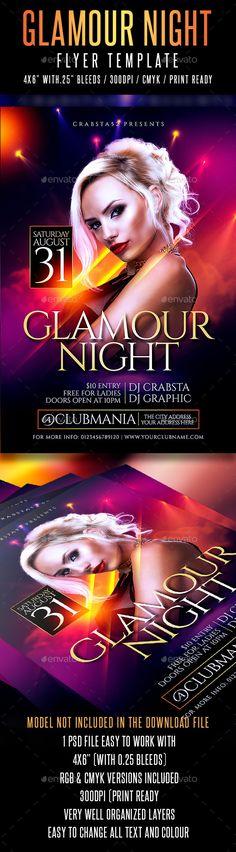 Feelin It - Nightclub Party Flyer Template Flyers, Nightclub and - grand opening flyer