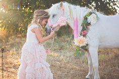 Beautiful shot from Sandra Boos Photography - a girl and her pony.