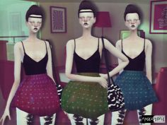 FingerPeople Sims [Finger People Sims] REVERSE Female Short Dress   Sims 4 Updates -♦- Sims Finds & Sims Must Haves -♦- Free Sims Downloads