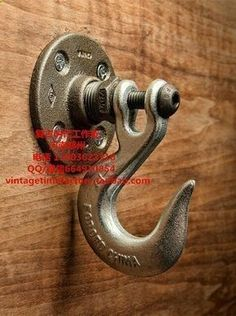 Quality Vintage Heavy Industrial Loft Pipe Wall Hook Interior Decor Bathroom Decor Steampunk Decor Wall Hook Hat Rack Holder Coat Hanger with free worldwide shipping on AliExpress Mobile Pipe Furniture, Industrial Furniture, Furniture Ideas, Garage Furniture, Furniture Chairs, Furniture Design, Furniture Stores, Man Cave Furniture, System Furniture
