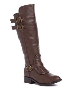 Take a look at this Brown Buckle Wes Boot today!