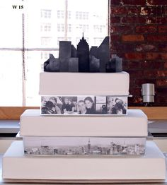 Carlo's Bakery - Modern Wedding Cake Designs... or Mariage Aniversary
