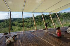 yoga on a shoestring retreat in Italy