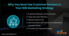 Why You Must Use Customer Reviews in YOur B2B Marketing Strategy  #LessIsMore #SocialMedia #SocialNetwork #information #community #communication #Medium #fromwhereistand #wahm #entrepreneur #smallbusiness #socialmedia #socialmediamarketing #network #networkmarketing #success #goals #beyourself #advertise #contentmarketing #Digitalmarketing #SEO #blogging #marketing #branding #marketingtips #marketingstrategy #startup #b2bmarketing  #reviews