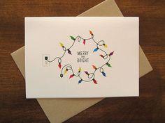 RESERVIERT FÜR HEATHER W. - Merry and Bright - Weihnachtskarte (48er-Set) - #48erSet #Bright #für #HEATHER #Merry #RESERVIERT #Weihnachtskarte