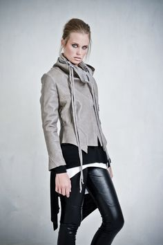 Same jacket as black leather one for shape