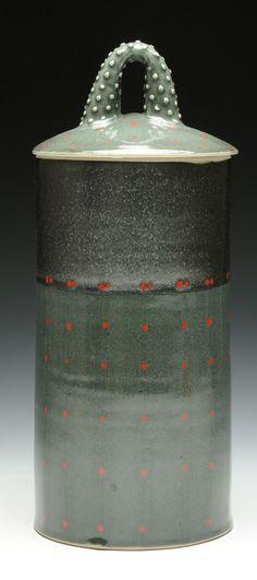 Nan Coffin | Pasta Jar White stoneware