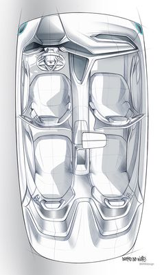 BMW Vision Future Luxury by Doeke de Walle, via Behance