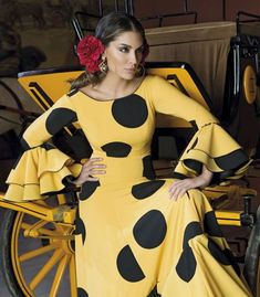 trajes de flamenca 2018 - Aires de Feria - Traje de gitana 2018 Aires