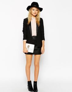 Image 3 of ASOS Clutch Bag with Tassel