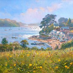 Buttercup Time. Helford Passage