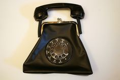 retro rotary phone purse - step by step tutorial