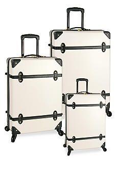 Diane von Furstenberg Adieu Hardside Spinner Luggage Collection - White