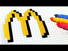 Handmade Pixel Art - How To Draw #pixelart - YouTube