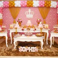 Sophia's 1st birthday  - Princess