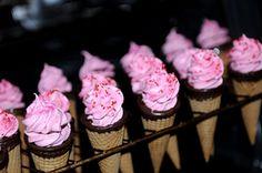 Pink Wedding Ice Cream
