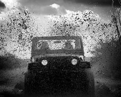 * Awesome Photo! Re-Pinned by www.JeepDreamsUSA.com We did this in my jeep and it was one of the most fun things that I have done, I either want my jeep to be very clean or very dirty, I HATE the in between! LOVE my jeep!!